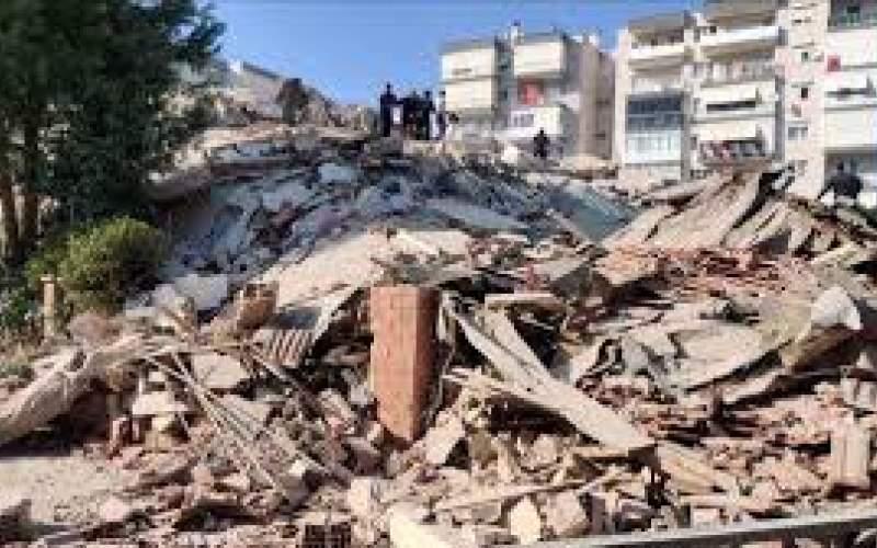 وقوع پسلرزه ۵ریشتری در ترکیه