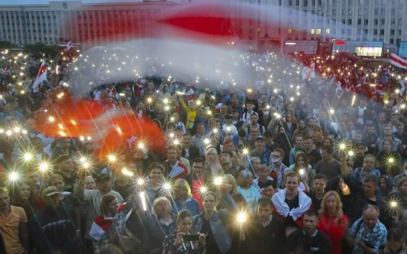 اعتراضات در بلاروس با قدرت ادامه دارد