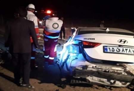 تصادف خونین در محور تکاب؛ ۵ نفر جان باختند