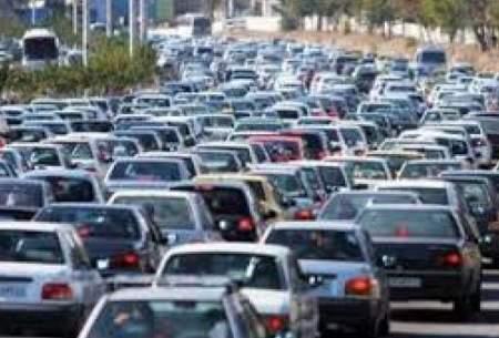 ترافیک سنگین در برخی از بزرگراههای تهران