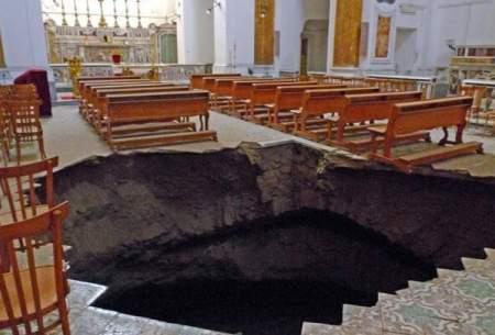خطر ریزش کلیساهای تاریخی ایتالیا