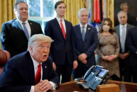 ترامپ نتیجه انتخابات منصفانه  را میپذیرد