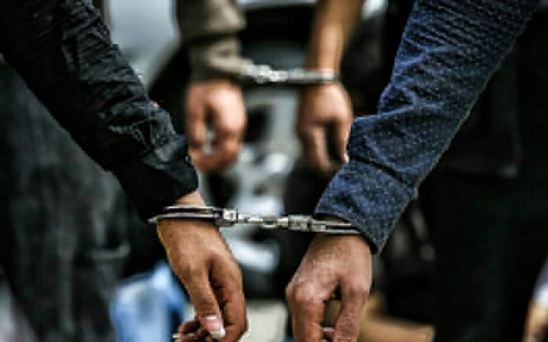 مواد فروشان لوکس سوار دستگیر شدند