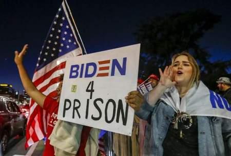 اعتراض هواداران ترامپ به نتیجه انتخابات
