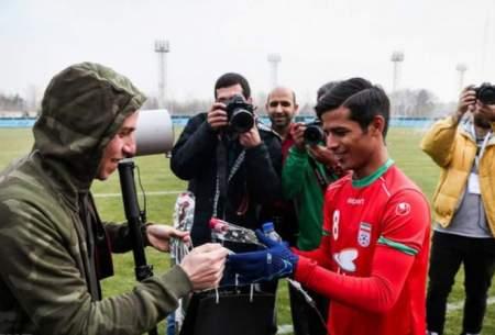 اولین گل ملی قائدی در دومین بازی ملی