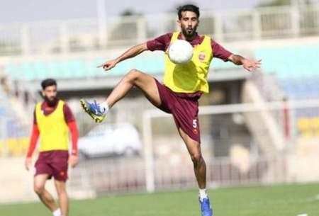 آمادگی بشار رسن در تمرینات تیم ملی عراق