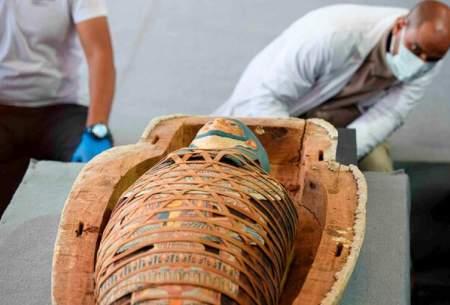 کشف بیش از ۱۰۰ تابوت باستانی در مصر