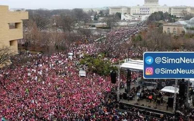 تجمع اعتراضی طرفداران ترامپ در واشنگتن
