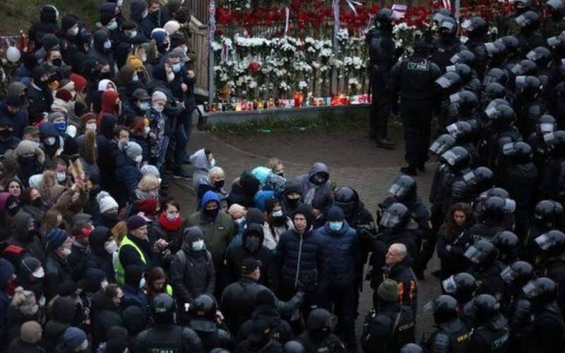 بازداشت هزار معترض در بلاروس