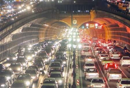 وضعیت ترافیک تهران بعد از اعلام تعطیلی صنوف