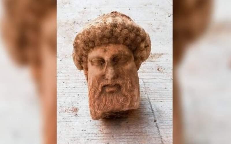 کشف مجسمه باستانی «هِرمس» در یونان