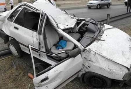 تصادفات؛ دومین علت مرگ بعد از کرونا