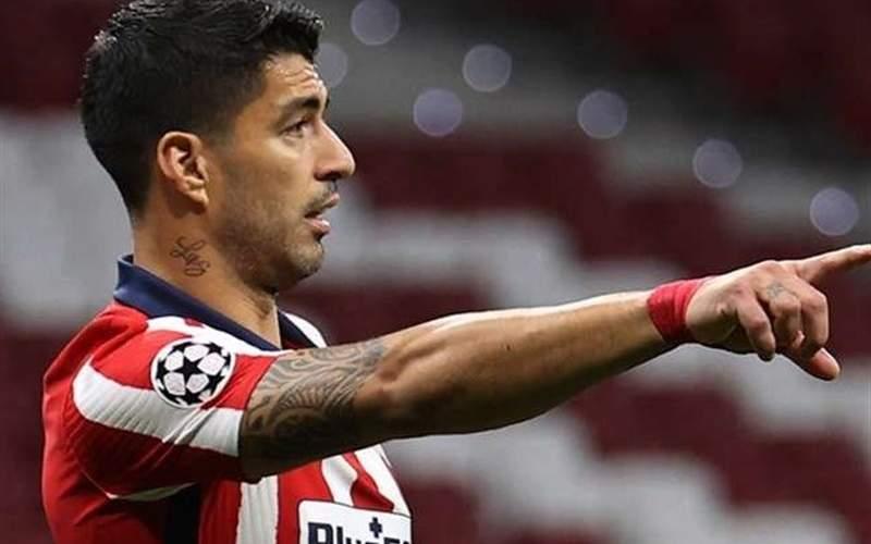 سوارس بازی با بارسلونا را از دست داد