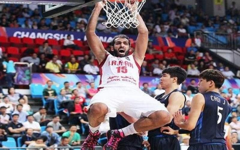حدادی دومین بازیکن برترلیگ بسکتبال چین شد