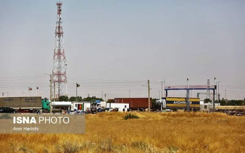 کاهش حجم کامیونها در مرز دوغارون