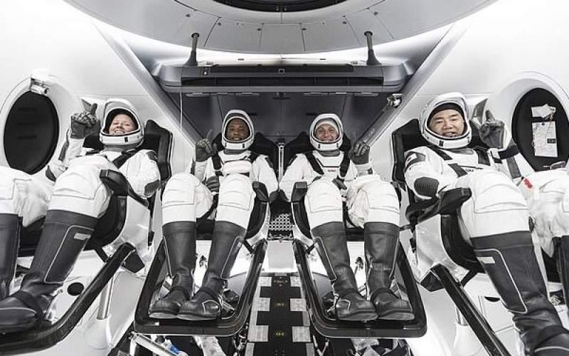 ۴ فضانوردبه ایستگاه فضایی بین المللی رسیدند