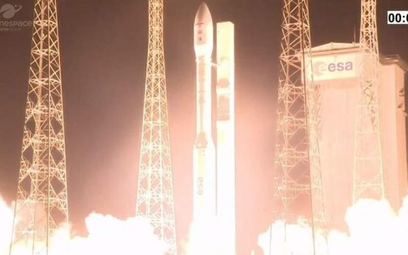 از بین رفتن ۲ ماهواره در یک پرتاب ناموفق