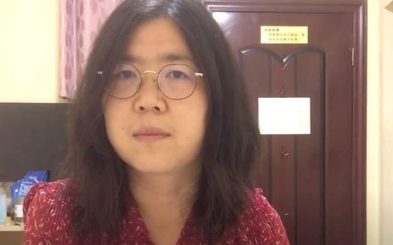 حبس به دلیل گزارش شیوع کرونا در چین