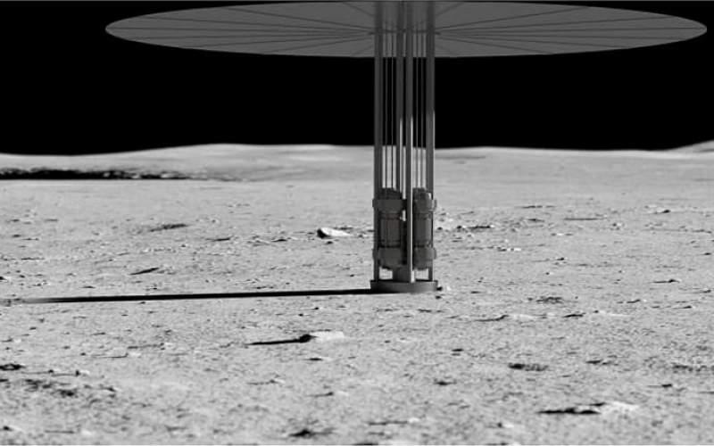 آمریکا در کره ماه نیروگاه هستهای میسازد
