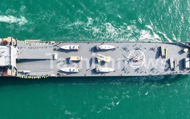 الحاق یک ناو اقیانوس پیما به نیروی دریایی سپاه