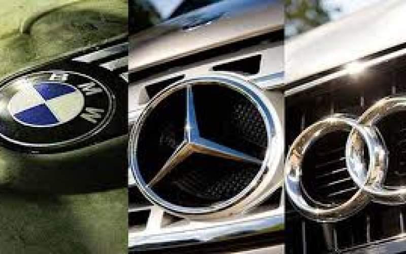قیمت خودروهای آلمانی در بازار/جدول