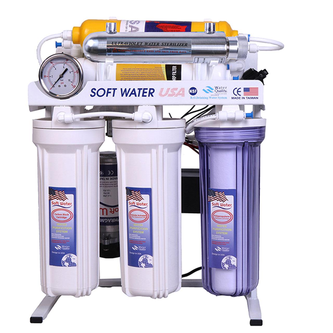 دستگاه تصفیه آب سافت واتر