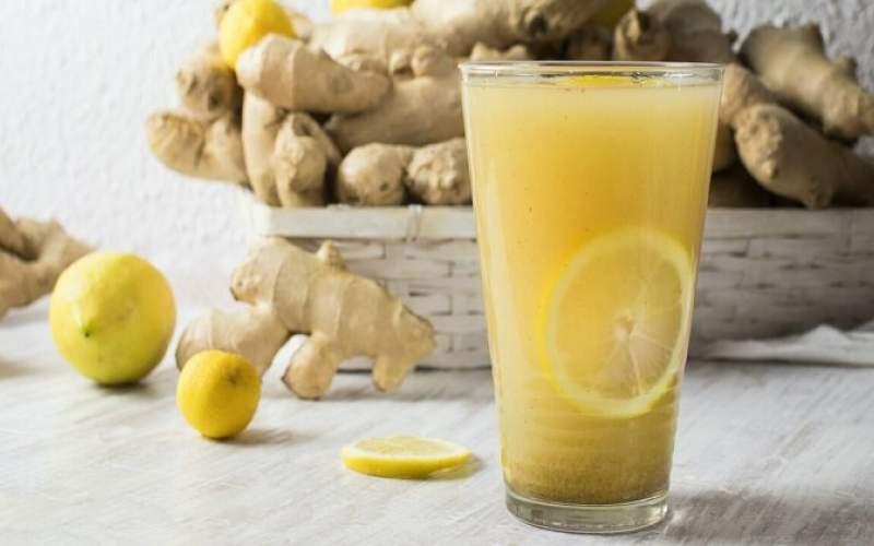۱۰فایده مصرف صبحگاهی نوشیدنی زنجبیل لیمو