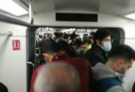 مترو و خیابانهادراولین روز محدودیت ها/تصاویر