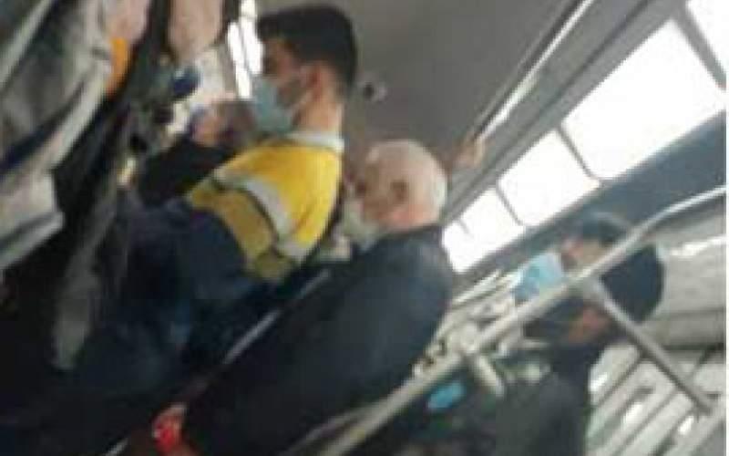 شلوغی مترو در دومین روز اجرای محدودیتها