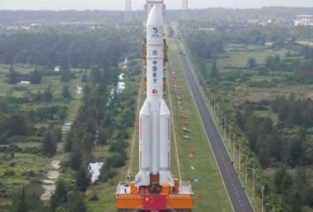 چین خاک ماه را به زمین میآورد