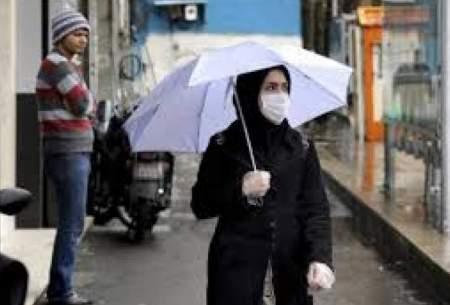ماسکهای خیس در روزهای بارانی قابل استفادهاند