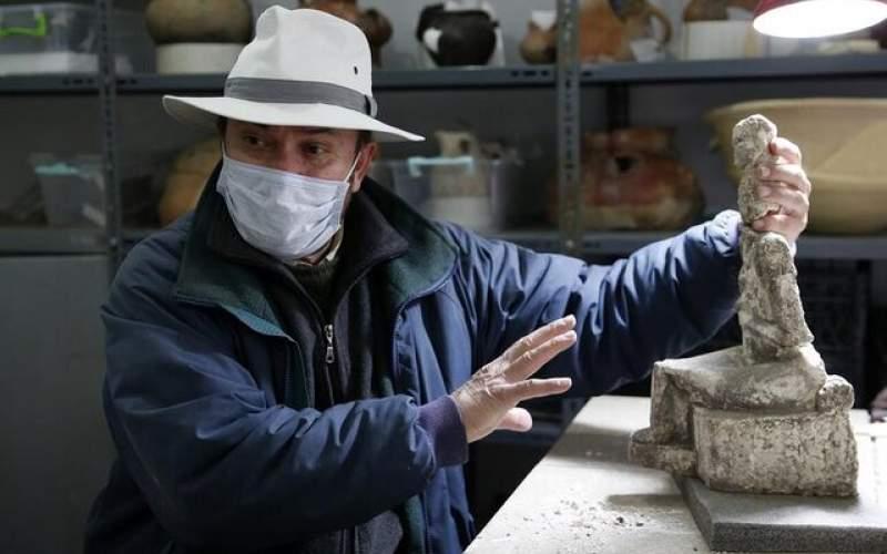 کشف الهه ۴۲۰۰ساله در ترکیه/ عکس