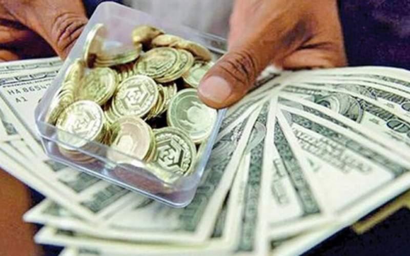 کاهش قیمت سکه تا زیر ۱۰ میلیون