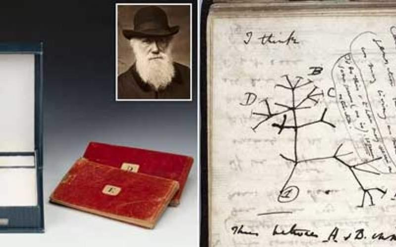 کتابهای میلیون دلاری داروین گم شدند!