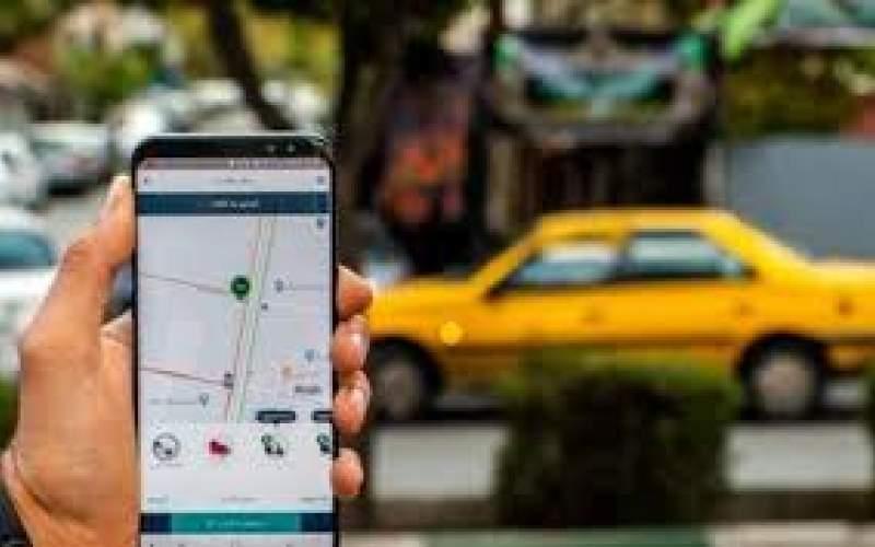 نحوه تردد تاکسیهای اینترنتی در ایام قرنطینه