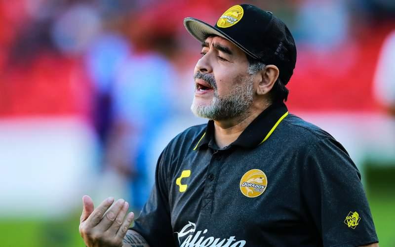 جهان فوتبال در شوک از دست دادن مارادونا