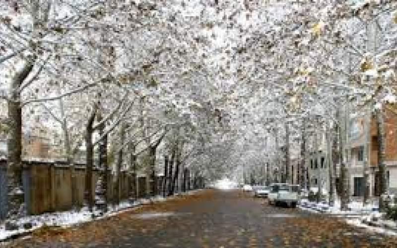بارش برف و باران در بیشتر مناطق کشور
