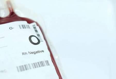 افراد دارای گروههای خونی O و منفی کمتر به کرونا مبتلا میشوند