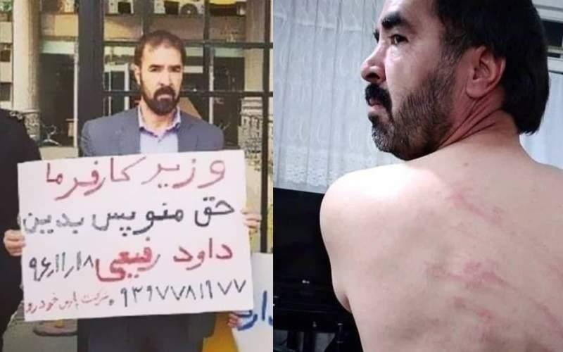 واکنشها به اجرای حکم ۷۴ ضربه شلاق یک فعال کارگری