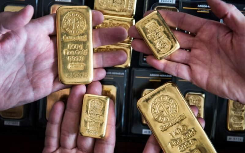 قیمت جهانی طلا به زیر ۱,۸۰۰ دلار بازگشت