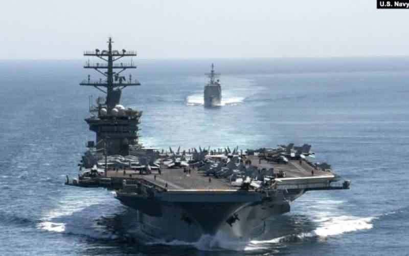 بازگشت ناو هواپیمابر نیمیتز به خلیج فارس