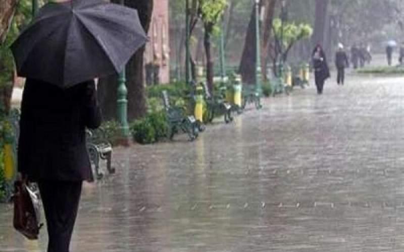 ادامه بارندگی ها طی امروز و فردا