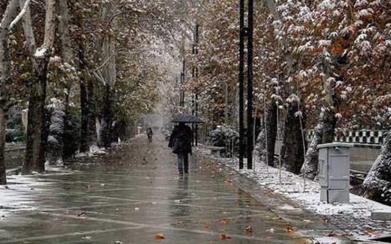 هشدار نسبت به تداوم بارش برف و باران