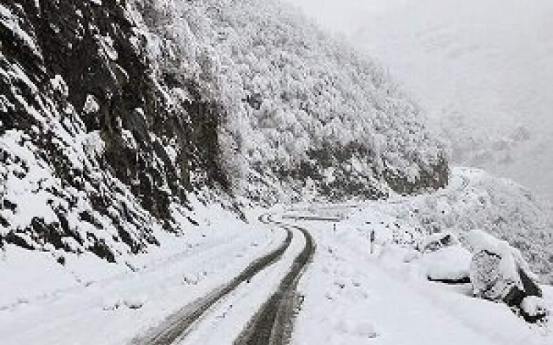 ارتفاع برف در بوکان به ۱۴ سانتیمتر رسید