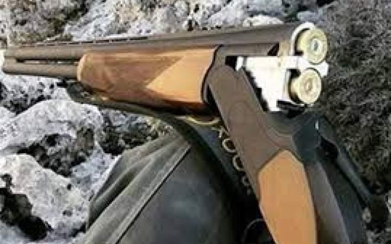 بازی مرگبار کودک 10 ساله با تفنگ شکاری