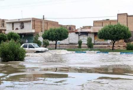 آبگرفتگی و سیلاب در آبادان/تصاویر