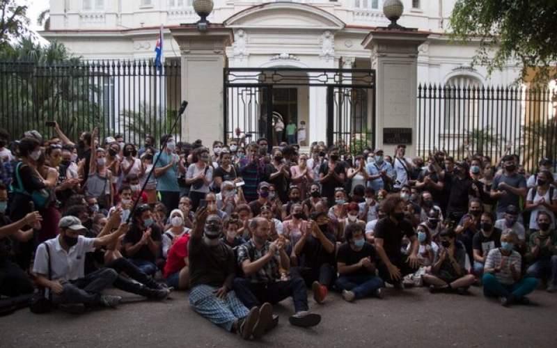اعتراض بیسابقه در کوبا علیه سانسور