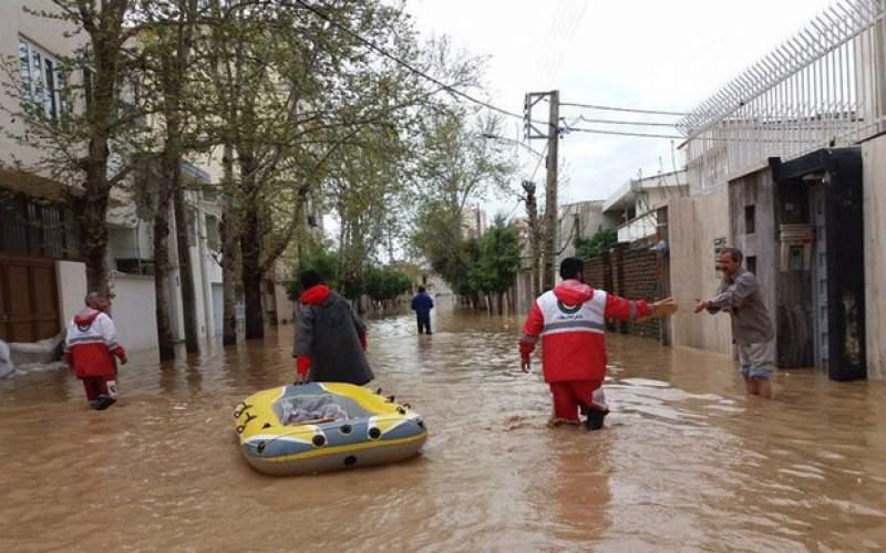 سیل و آبگرفتگی در هشت استان کشور