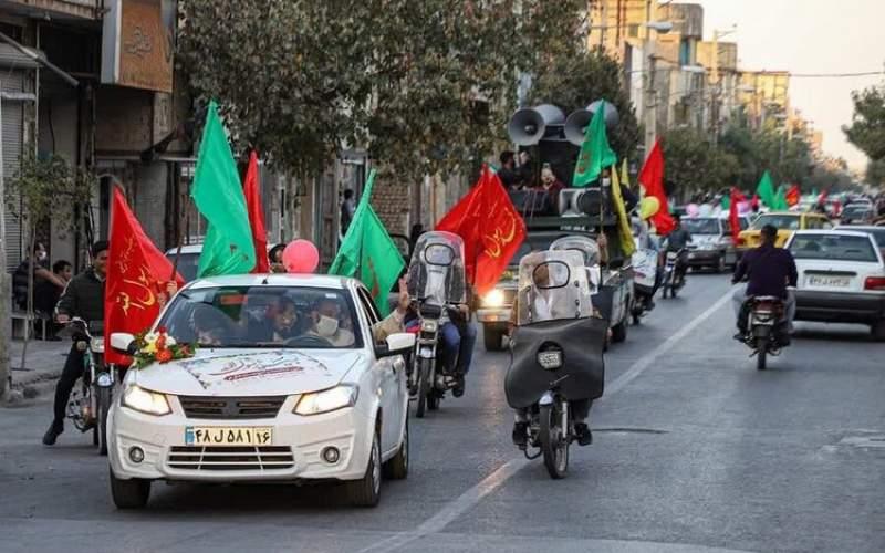 راهپیمایی خودرویی علیه برجام  ناکام ماند