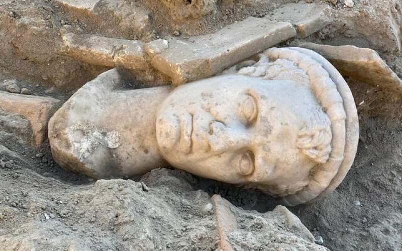 مجسمه دوهزارساله در ترکیه کشف شد